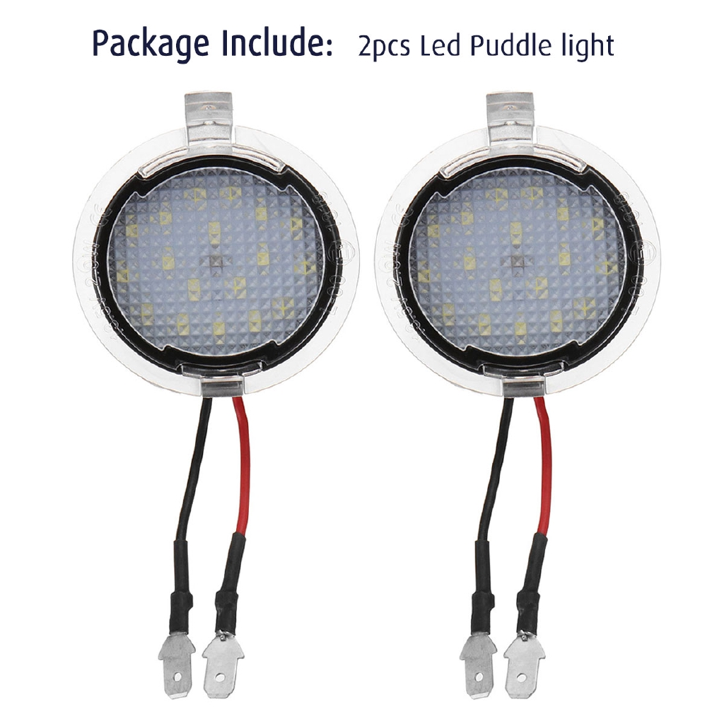 18 LED Under Mirror Puddle Light White Pair Ford S-Max Mondeo Edge 605 /& Lincoln