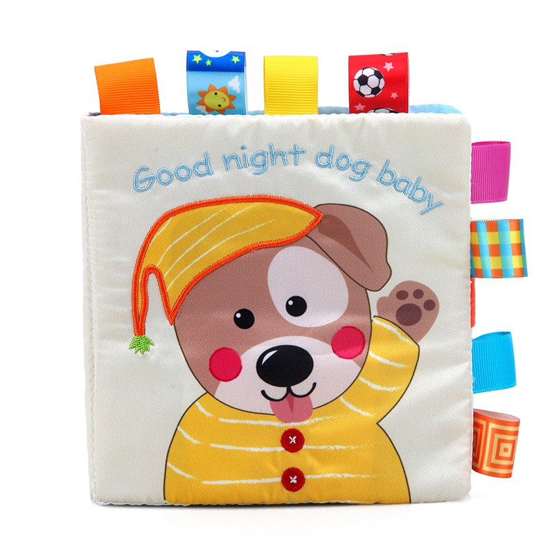 Mylilangelz Animal Style Newborn Baby Toys Learning Educational Kids Cloth Books Cute Infant Baby Fabric Book
