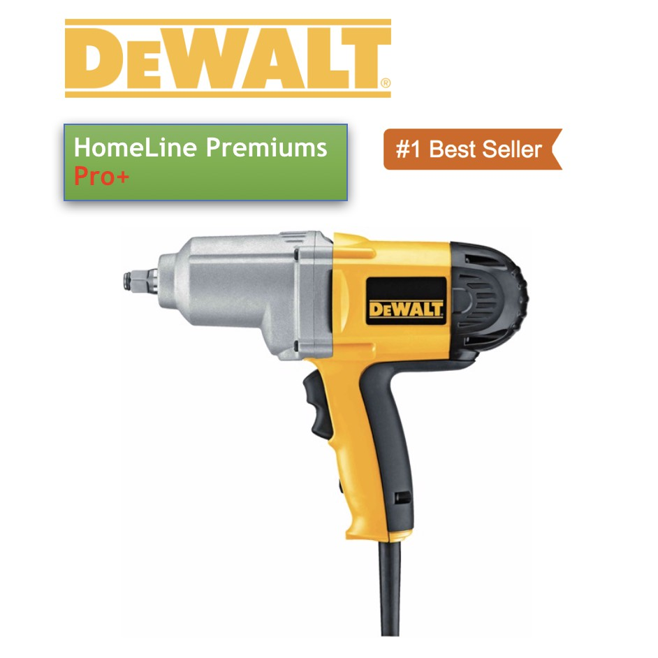 "DeWALT DW293 1//2/"" Impact Wrench Hog Ring Anvil Driver Electric Tool NEW"