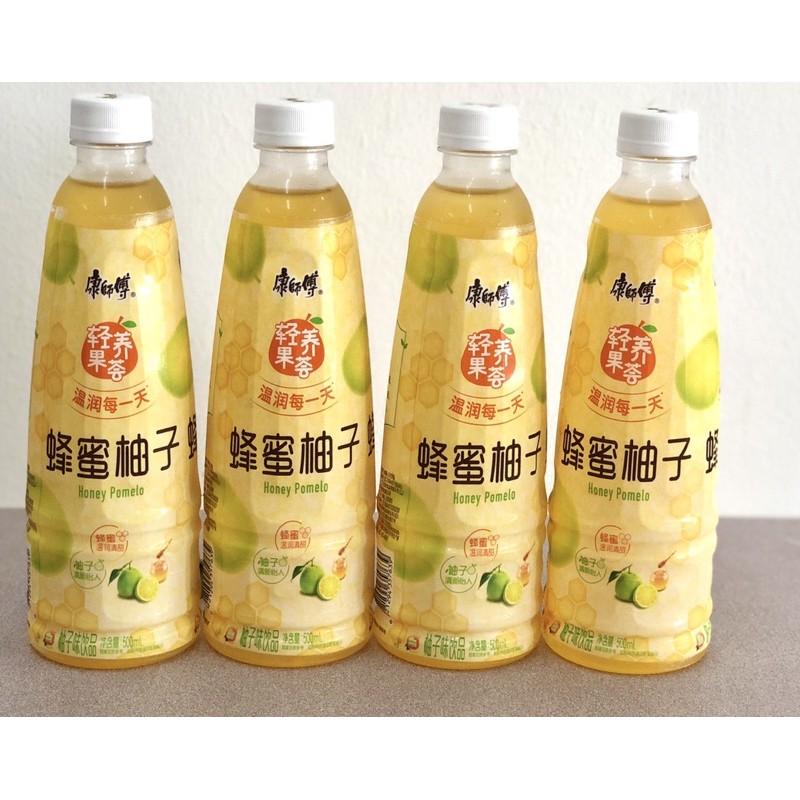 康師傅 Kang shi fu 蜂蜜柚子 500ML