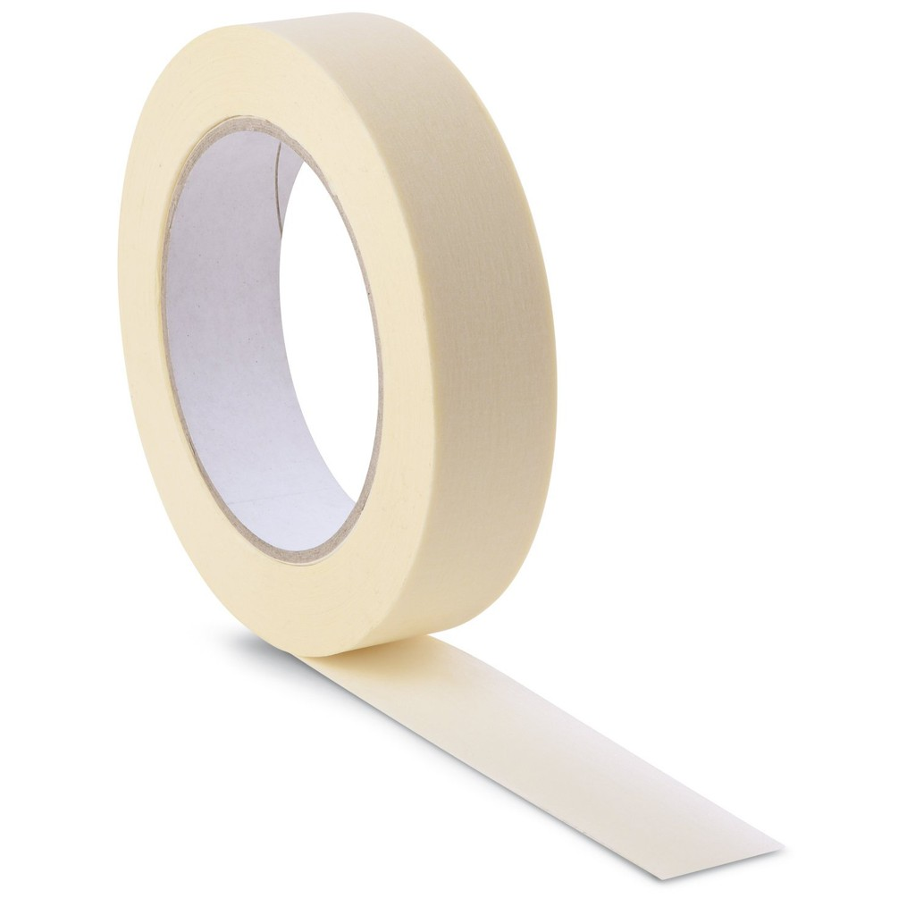 MASKING TAPE (12MM), (24MM), (48MM) X 16 Meter (18yards)