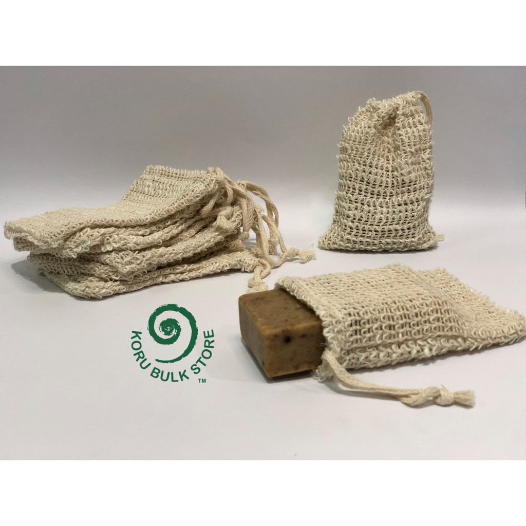 TheMilkShop Sisal Soap Net