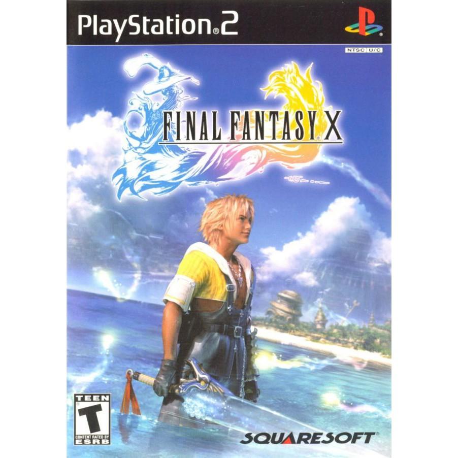 PS2  Final Fantasy / Final Fantasy X-2 / Final Fantasy XI / Fantasy XII [Burning Disk]