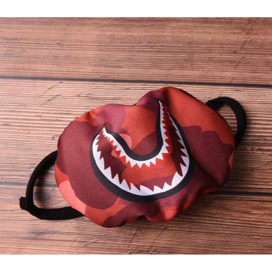 Bathing Ape Bape Cycle Shark Camouflage Cotton Anti-Dust Riding Mouth Face Mask