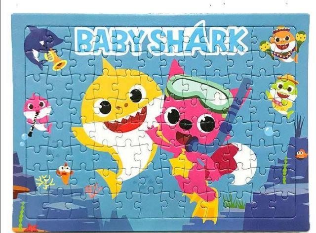 Baby Shark Jigsaw Puzzle (96pcs)