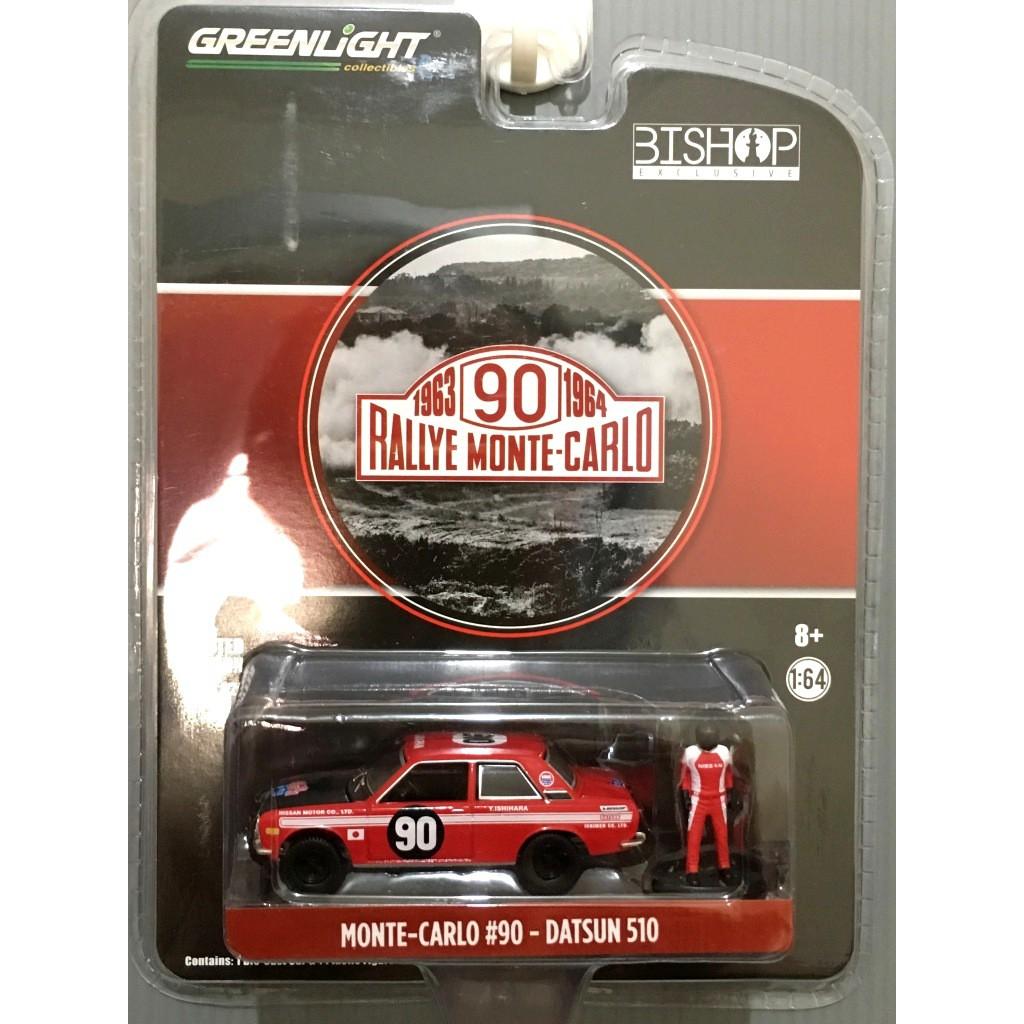 DATSUN 510 RALLYE MONTE CARLO #90 GREENLIGHT BISHOP Exclusive