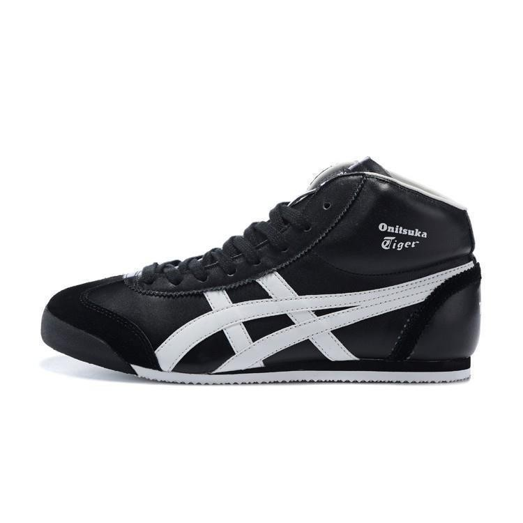 on sale efad3 750da Kasut ASICS 2019 shoes Onitsuka Tiger men and women running shoes sneakers  black/white