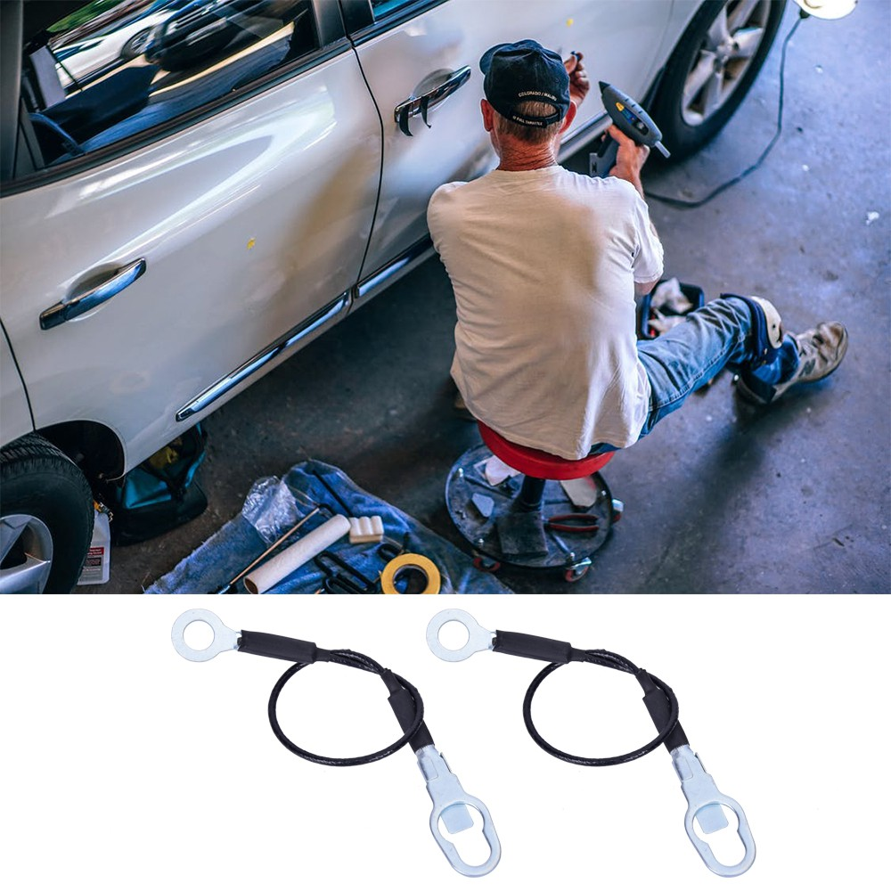 1Pair Pickup Truck Tailgate Tail Gate Cables for Ranger 93-11 F37Z9943052A Car Tailgate Cables