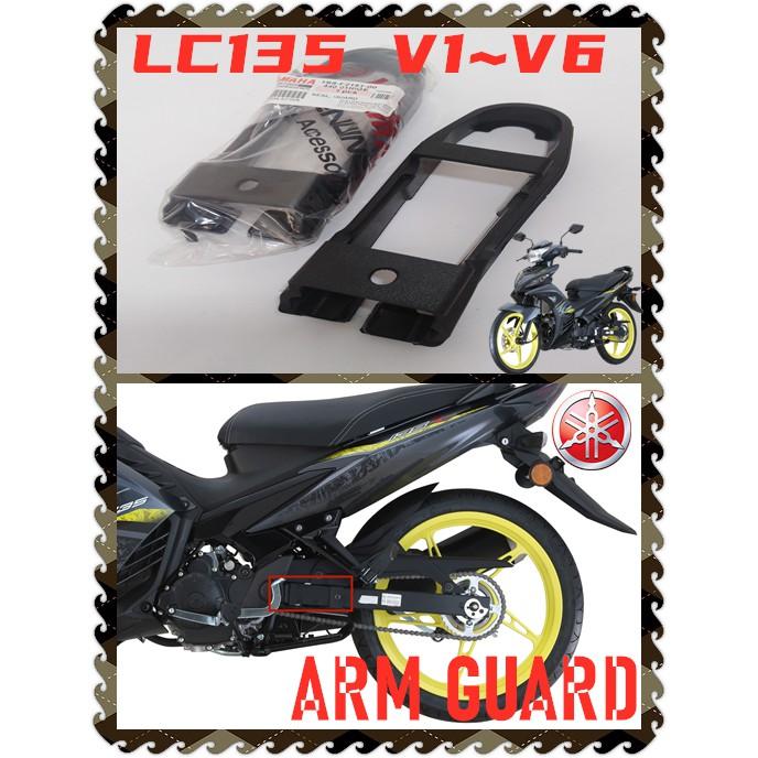 100% ORIGINAL HONG LEONG YAMAHA LC135 V1 V2 V3 V4 V5 V6 SWING ARM BAR CHAIN GUARD RUBBER SEAL GETAH ARM RANTAI