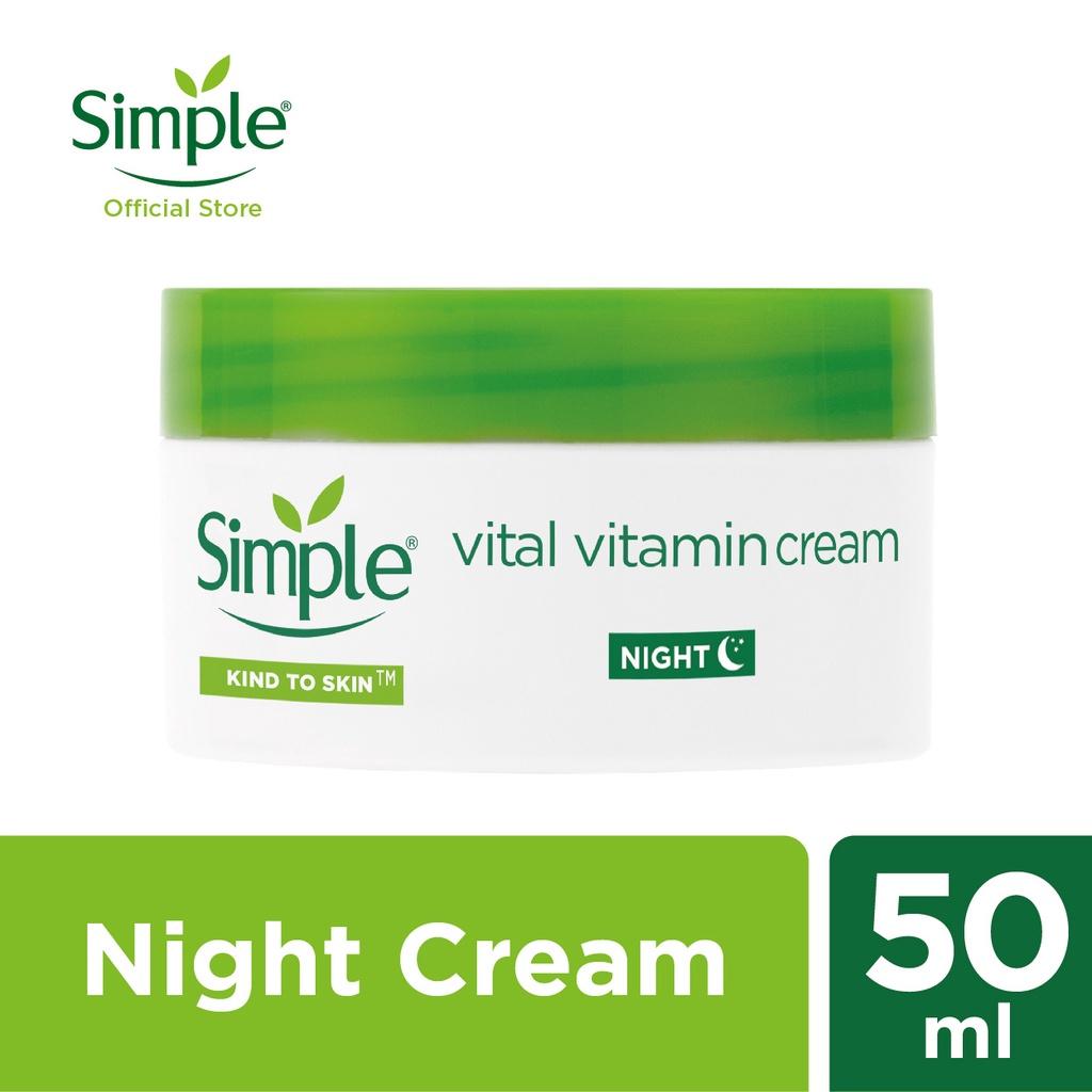 Simple Vital Vitamin Night Cream (50ml)