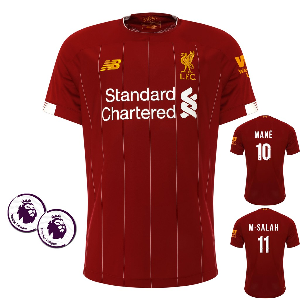 1:1 Copy ori 2019/2020 Liverpool Home football soccer kit jersey top qu