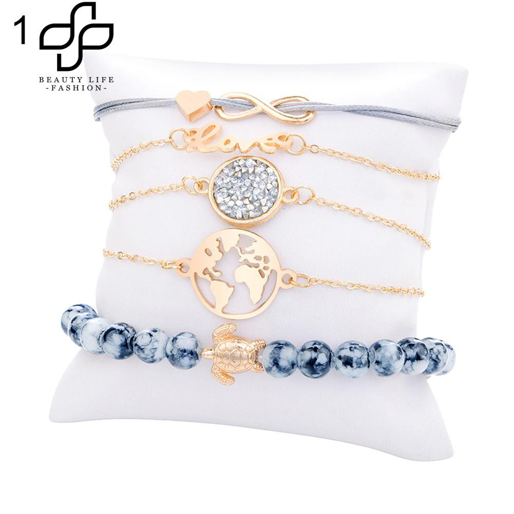Friendship Bracelet Set Bracelets For Men Stylish Owl Angel Wings Infinity Hand Chain Braided Rope Goods Of Every Description Are Available Jewelry & Accessories Bracelets & Bangles
