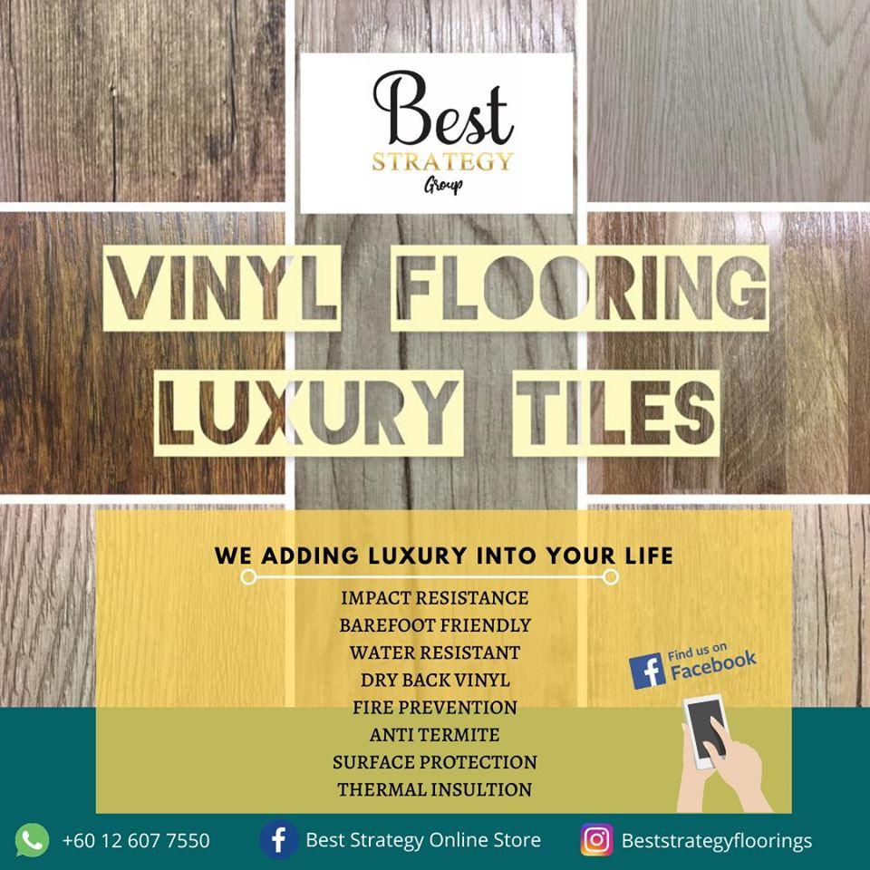 Jualan Hujung Tahun Vinyl Flooring