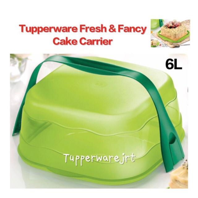 Tupperware Fresh & Fancy Cake Carrier Taker 6L