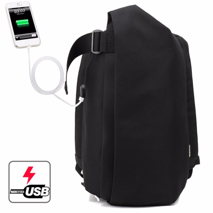 45d0ff196694 USB Charging Port Business Travel Laptop Bag Schoo Anti-theft 15.6inch  Backpack