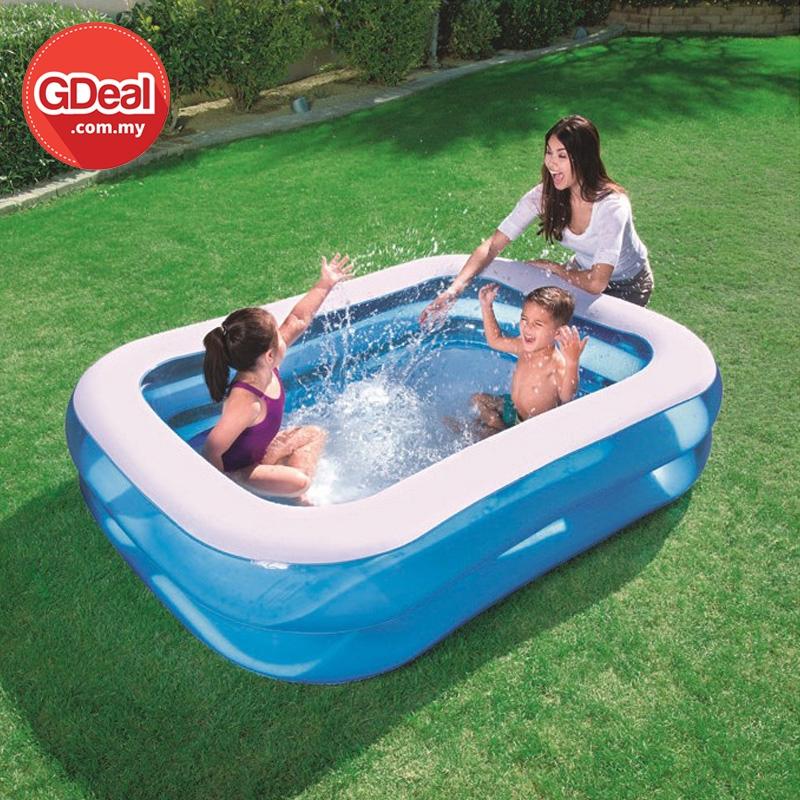 GDeal Inflatable Large Children Leisure Fun Family Swimming Pool Kolam Renang كولم رينڠ