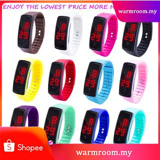 ✨Hot Sale✨ LED Digital Bracelet Watch Children's Silica Gel Sports Watch