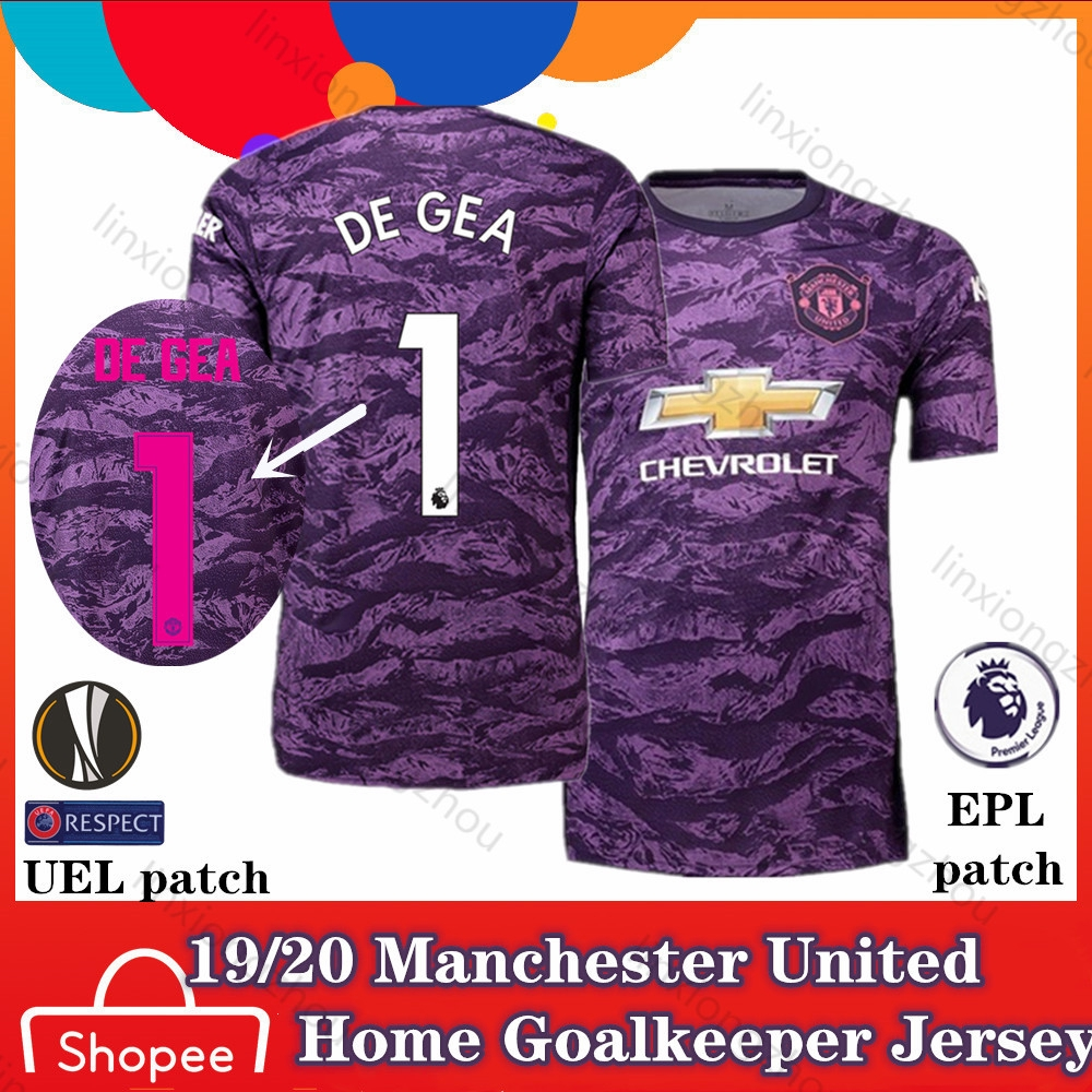 19 20 Top Qualtiy Manchester United Home Goalkeeper Jersey Football Jersey Soccer Jersey Shopee Malaysia