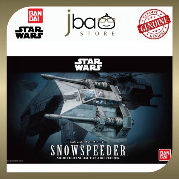 Bandai STAR WARS 1/48 Snowspeeder Modified Incom T-47 Airspeeder Model Kit