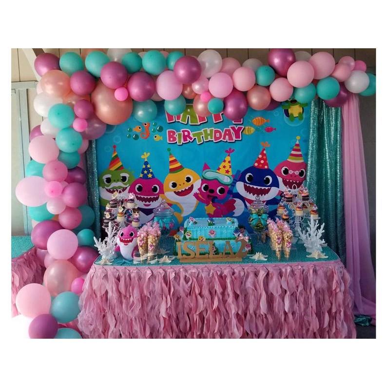 Baby shark birthday decorations,Baby shark party,Baby shark birthday favors