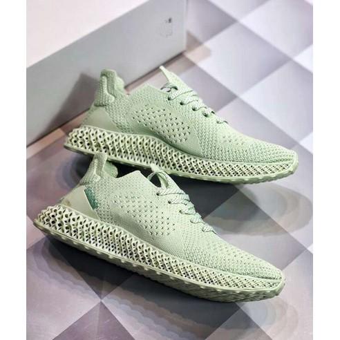 new product b6d9f ff67f 100% original adidas x Daniel Arsham Futurecraft luminous sneakers