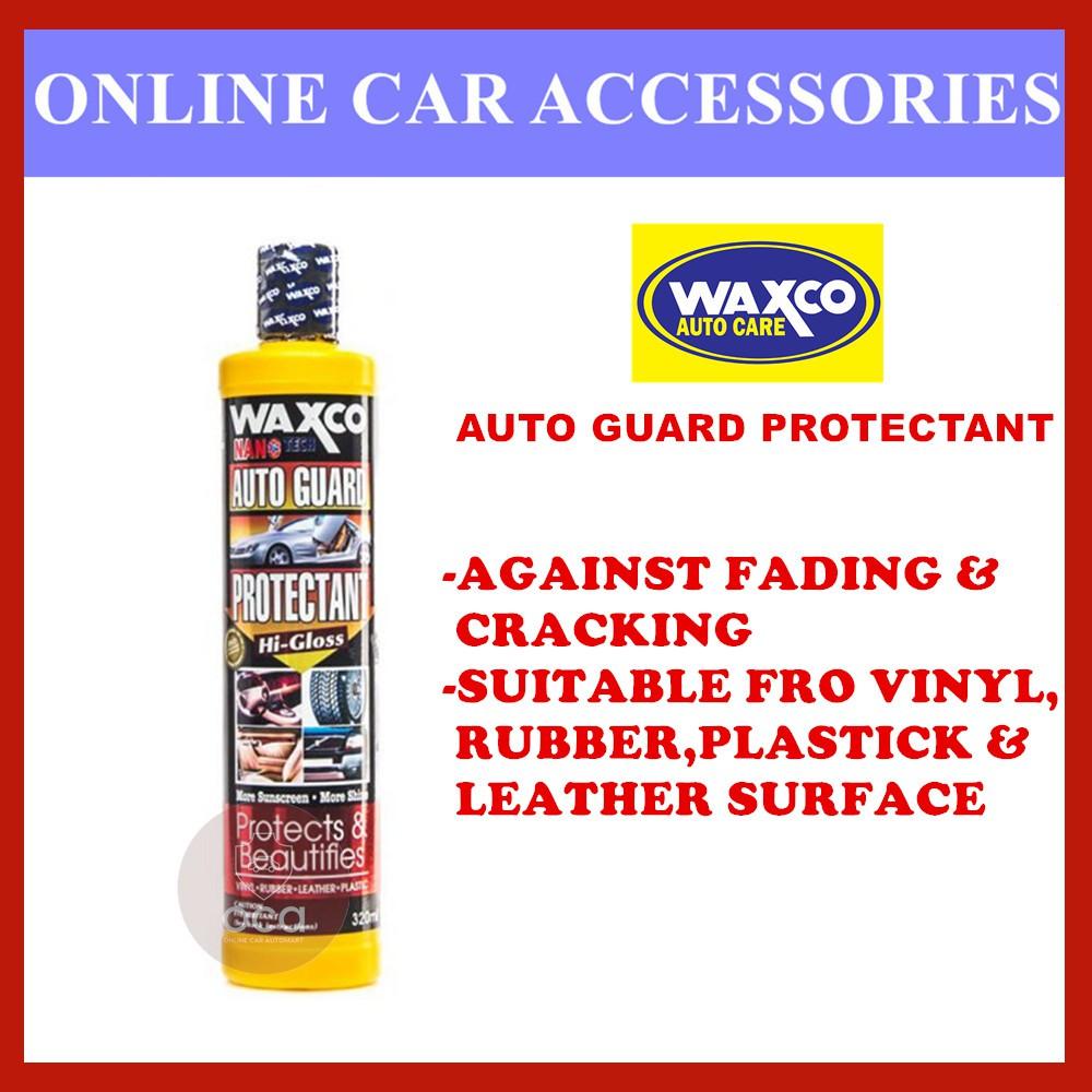 Waxco Nano Tech Auto Guard Protectant - 320ML
