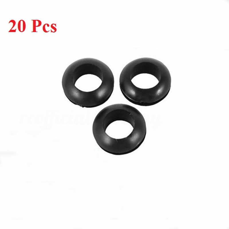 ⚫NEW⚫ Rubber Grommets Cable Hole Size Black/White 5/6/7/8mm Wiring on