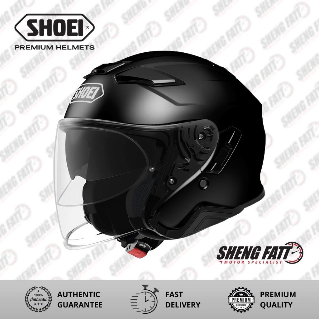 Shoei J-Cruise 2 Black Open Face Helmet XL Size