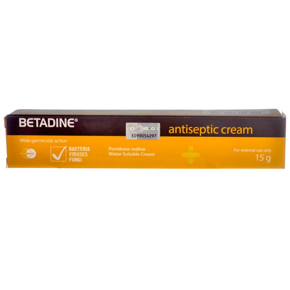BETADINE ANTISEPTIC CREAM 15GM
