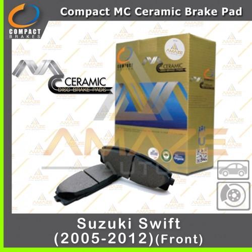 Compact MC Ceramic Brake Pad for Suzuki Swift (05 - 12) (Front)