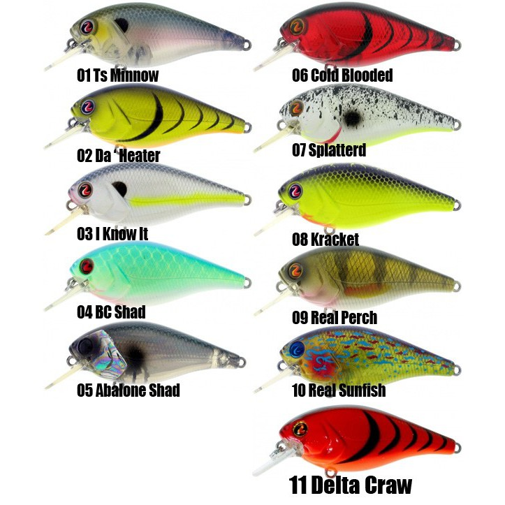 Stock Clearance Fishing Hard Lure River2sea Biggie Poppa67mm Smalls57mm