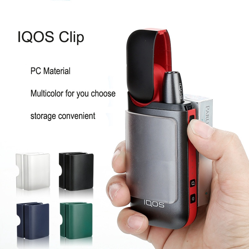 Durable Storage Case Protective Cover Clip Metal Clip Holder FOR IQOS 2.4 Plus