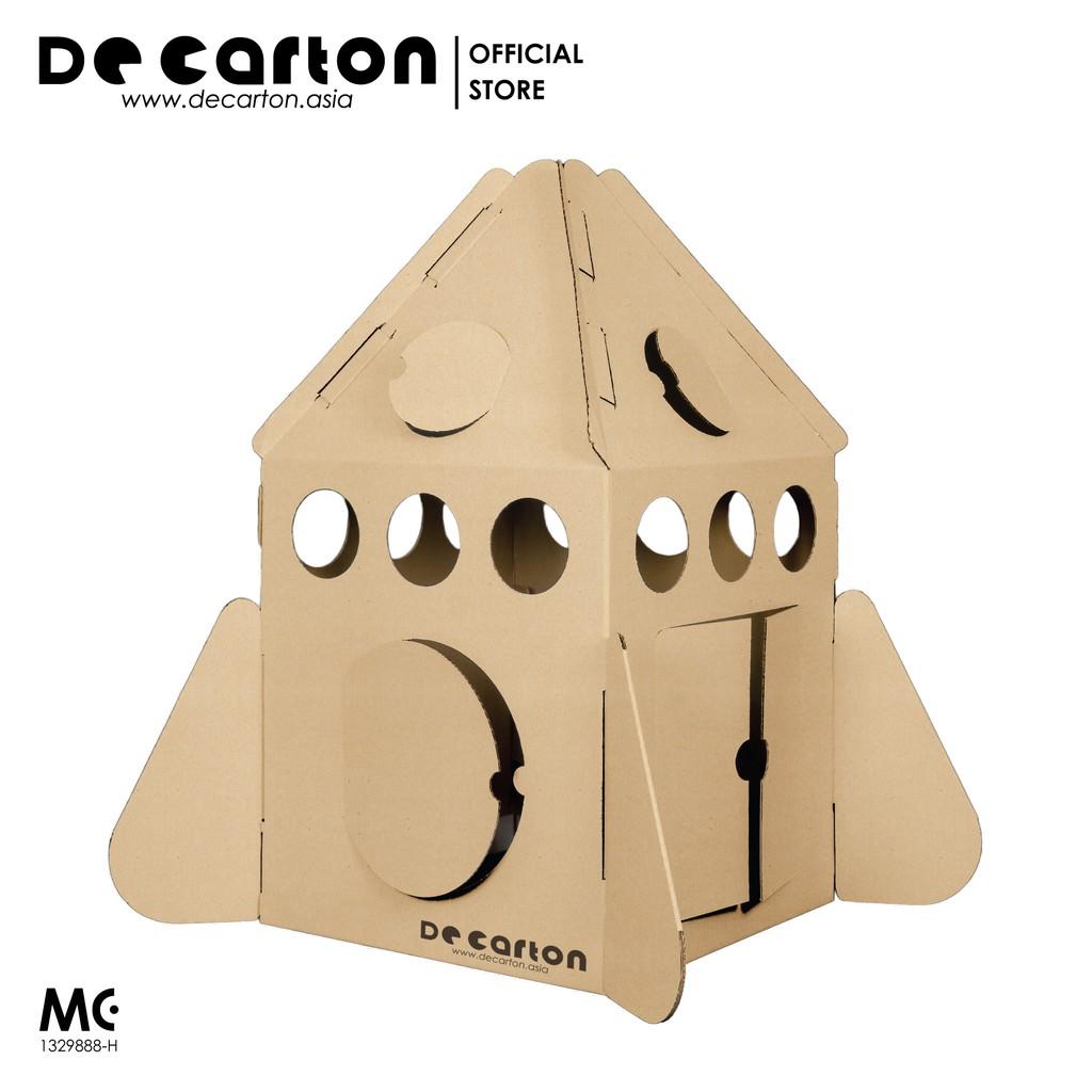 De Carton Cardboard Space Rocket Playhouse
