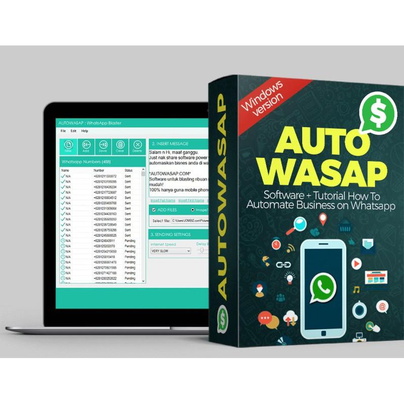 [HOT ITEM] Autowasap Dekstop PC Version Blaster Chat Whatsapp Marketing