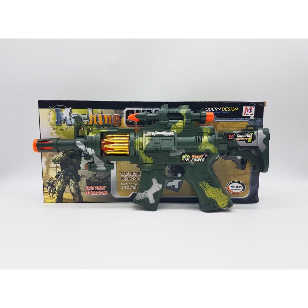 Electric Machine Gun Rifle Gun For Kid Shopee Malaysia