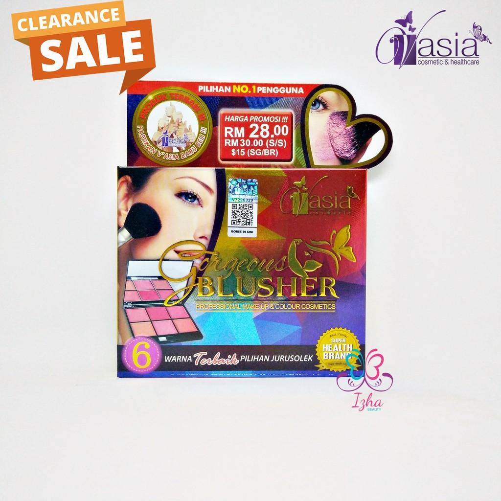 [V'ASIA] Gorgeous Blusher - 6 Warna