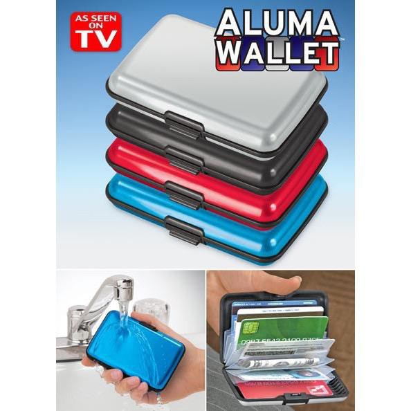 -MALAYSIA READY STOCK- AYNEW Security Alumunium Wallet CreditCard Cash Money ID Holder Card Wallet Men Women Wallet SM01