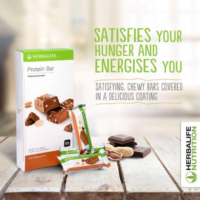 Herbalife Chocolate Peanut Protein Bar 蛋白能量棒 1 Bar