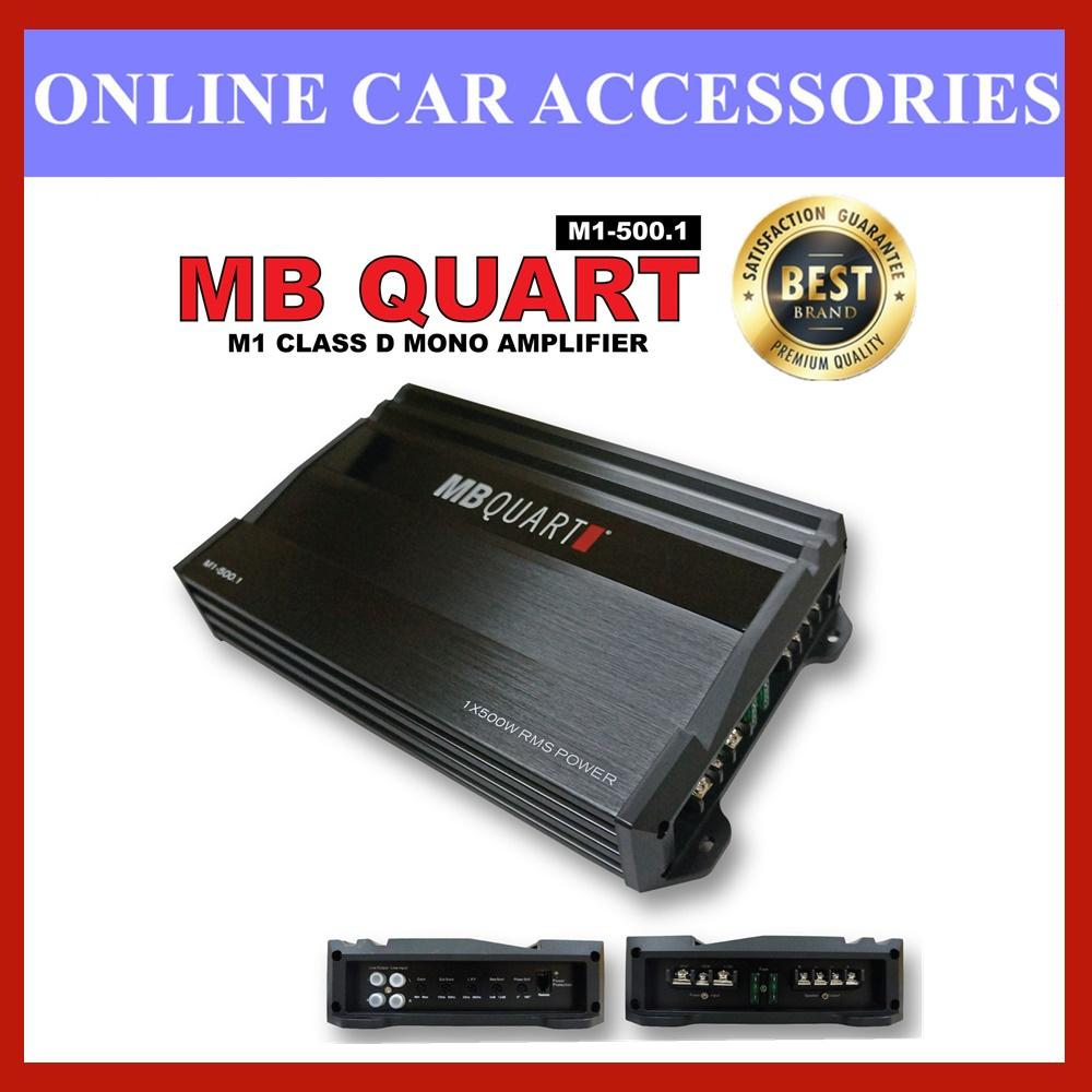 M1-500.1 - MB QUART CLASS D MONO AMPLIFIER