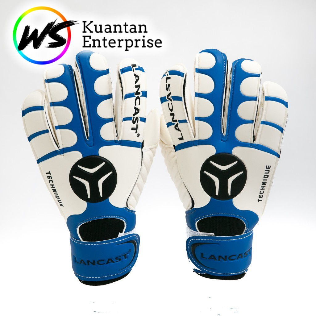 【100% Ready Stock】LANCAST Goal Keeper Gloves - TECHNIQUE (STOCK CLEARING!!!)