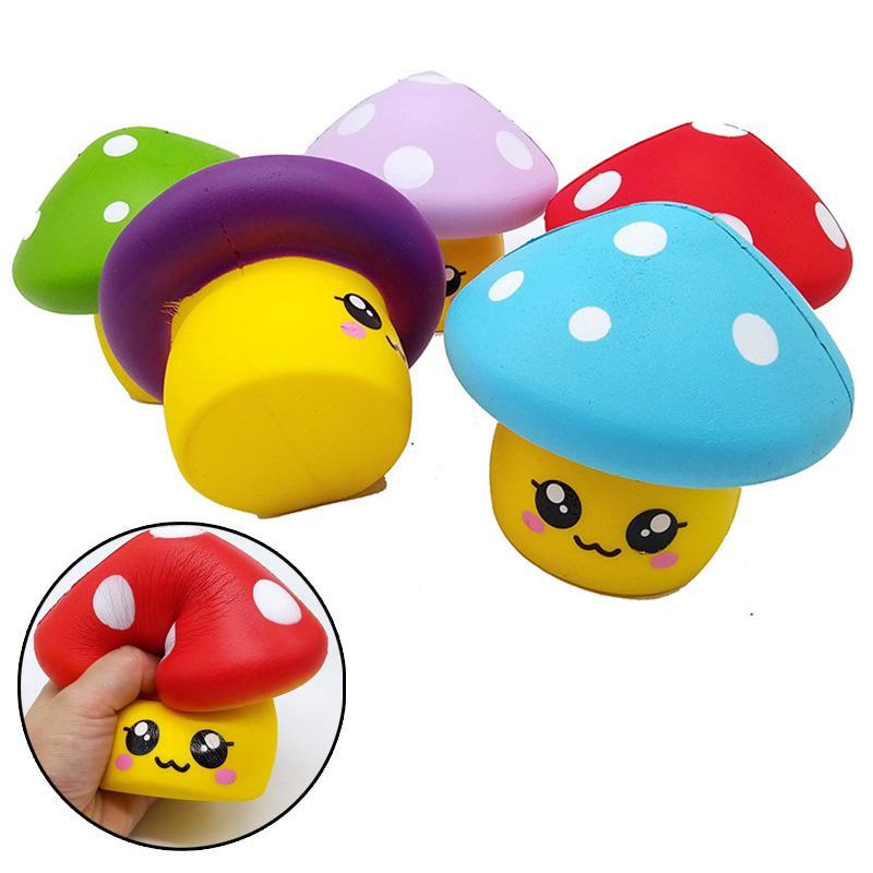 Terrific Adorable Squishy Slow Rising Jumbo Doll Emoji Mushroom Kids Download Free Architecture Designs Terstmadebymaigaardcom