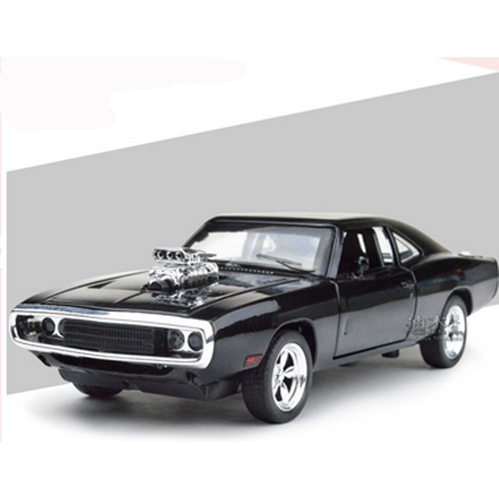 DODGES CHARGER 1970 1:32 MUSCLE Model Cars THE FAST/&FURIOUS  Black Alloy Diecast