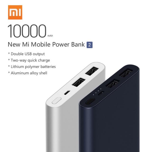 XiaoMi 2 Powerbank Mi2 10000mah Mi2