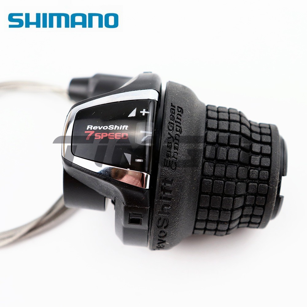 Shimano SL-RS45-7 Revo Shift 7 speed twist Shifter and 3 speed