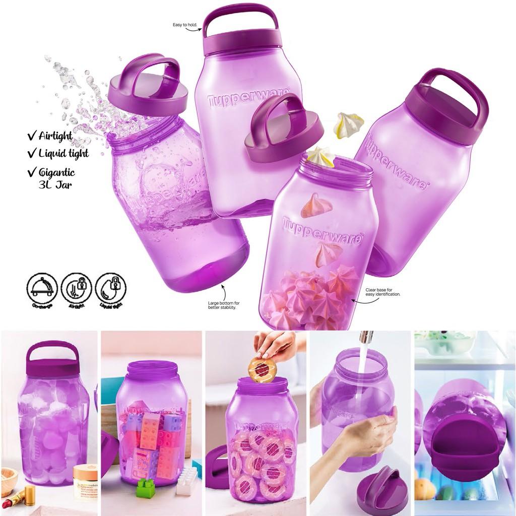 Tupperware Universal Jar 3L (Purple) - 1pc
