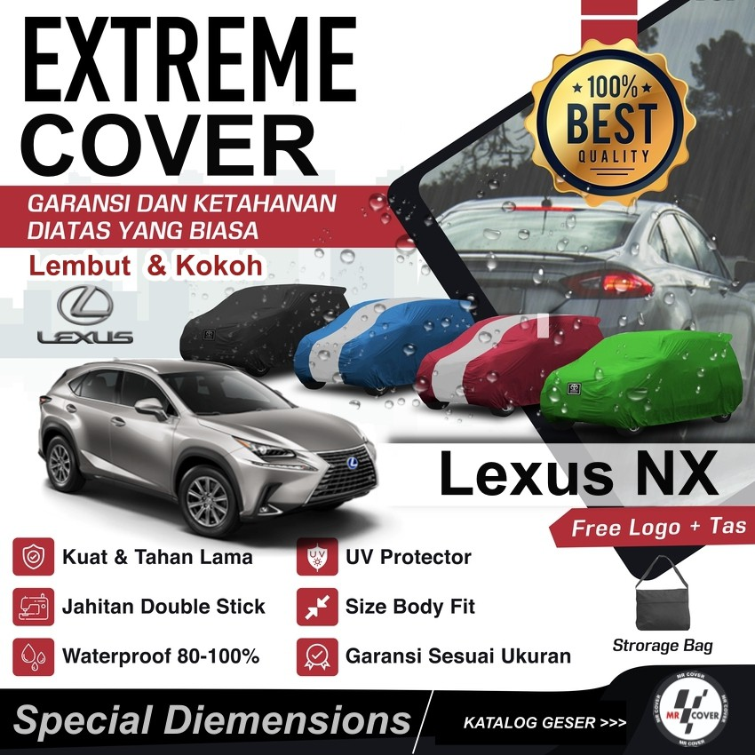 Lexus Nx Car Cover Body Cover Shopee Malaysia