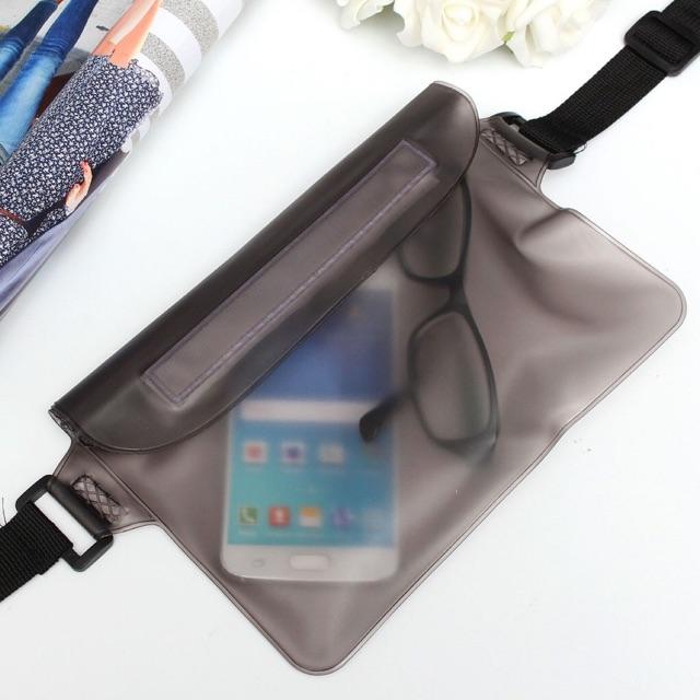Beg Waterproof Phone Protector Waterproof Bag Transparent Waterproof Case Phone wallet Waist <Nh Store