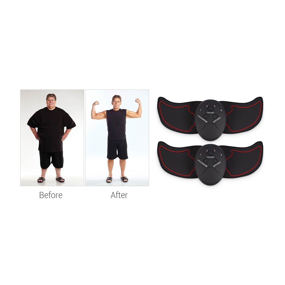Electric Muscle Training Machine Vibration Fat Burning Exerciser