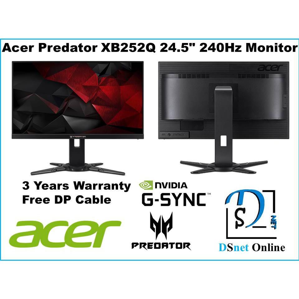 Acer Predator XB252Q 24 5