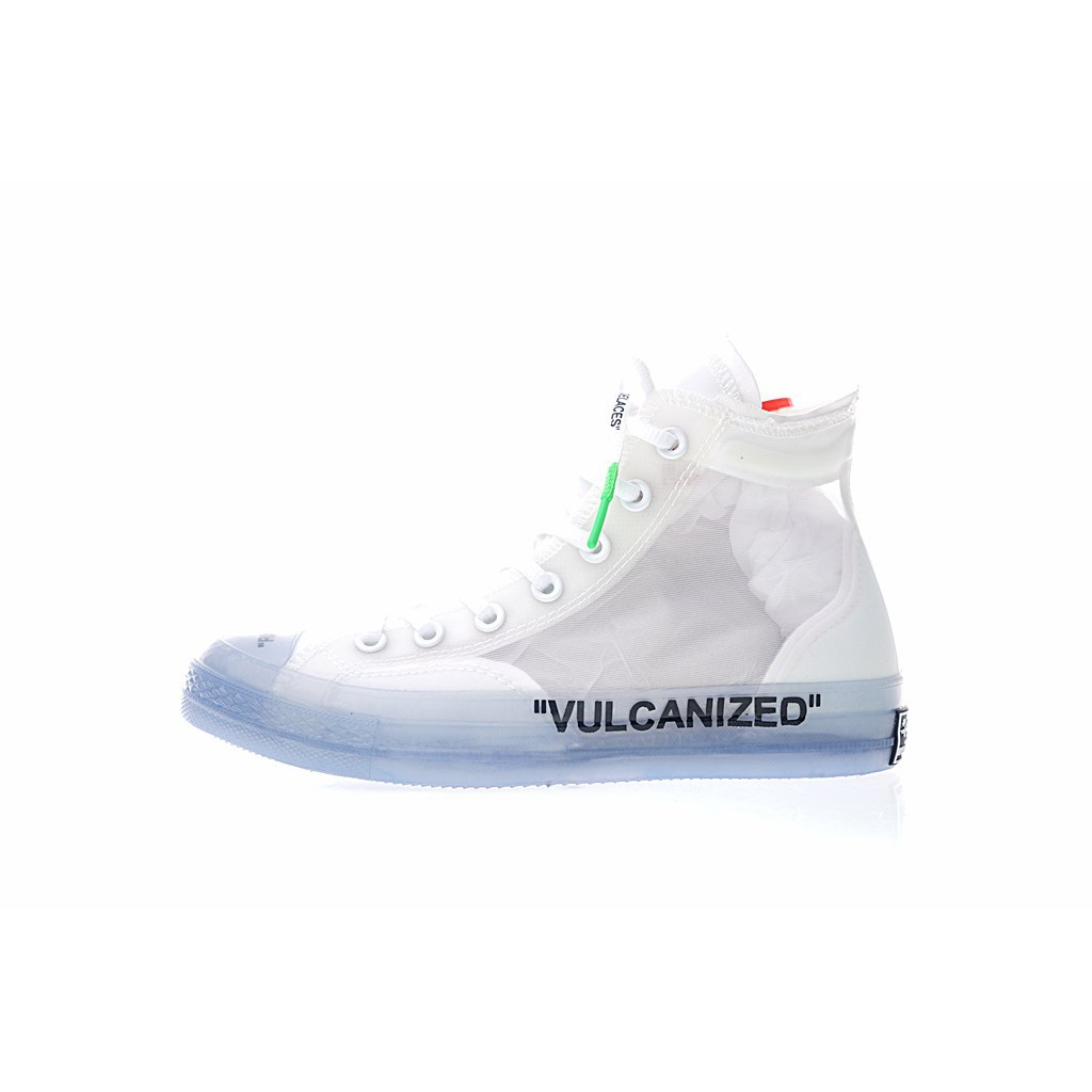 chaussures converse transparente
